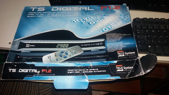 Telesystem Digital Satellite Receiver Ts Digital F1.2