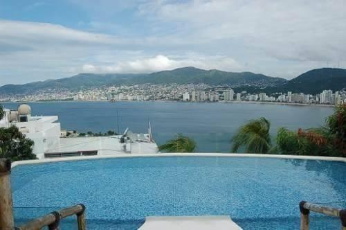 Casa En Brisas Guitarrón, Hermosa Vista Bahia Acapulco2758