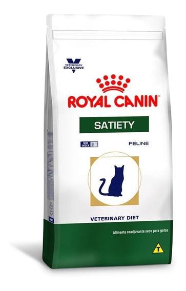 Ração Royal Canin Feline Veterinary Diet Satiety Gatos 1,5kg