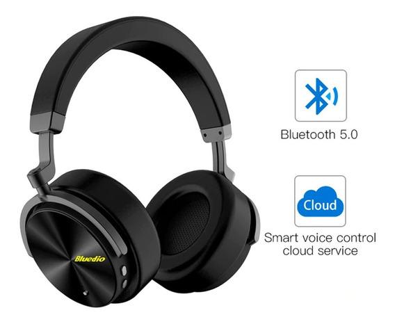 Fone Bluedio T5 Bluetooth Com Cancelamento De Ruído Original