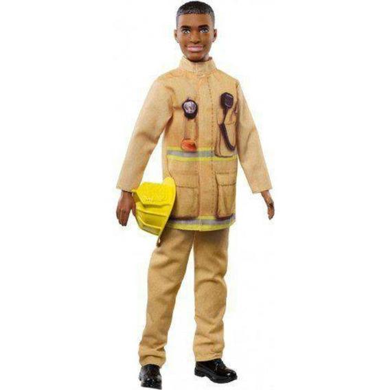 Boneco Ken - Barbie - Profissão Bombeiro - Mattel Fxp05