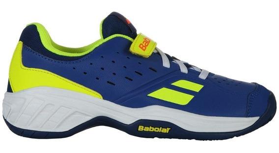Tenis Babolat Infantil All Court Pulsion - Nº 24 Ao 31/ Azul