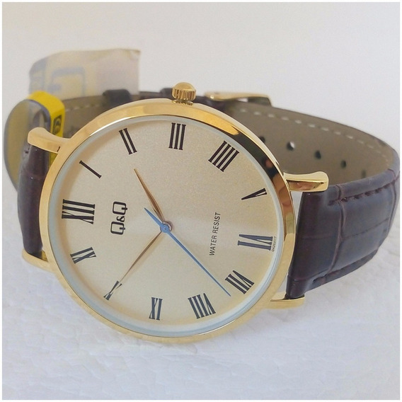 Relógio Masculino Qq 117y Slim Luxo Original Executivo Vip