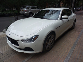 Maserati Ghibli Sq4, Blanco, 410cv; 0-100km: 4.8secs