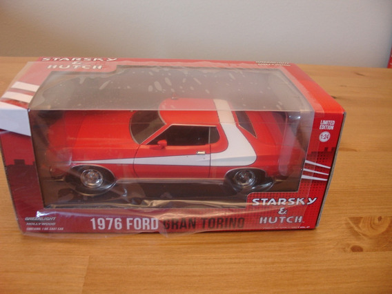 = Ford Gran Torino 1976 Starsky & Hutch 124 Green Light Holl