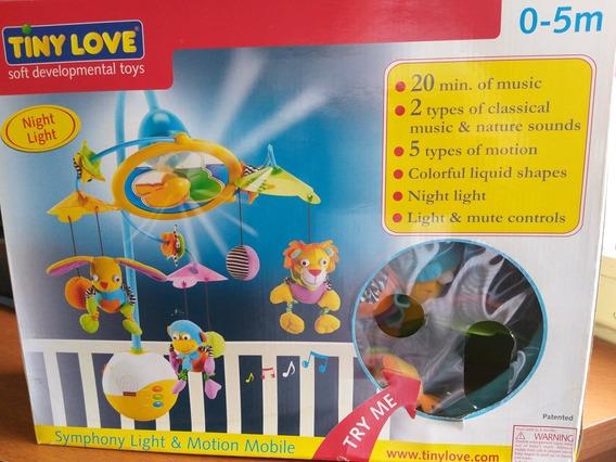 Mobile Para Berço 0-5 Meses Tiny Love Semi Novo Na Caixa.