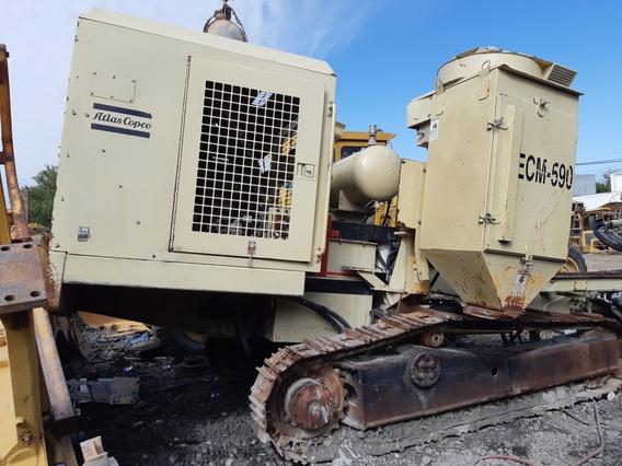 Perforadora Hidrotrack Atlas Copco Ecm590