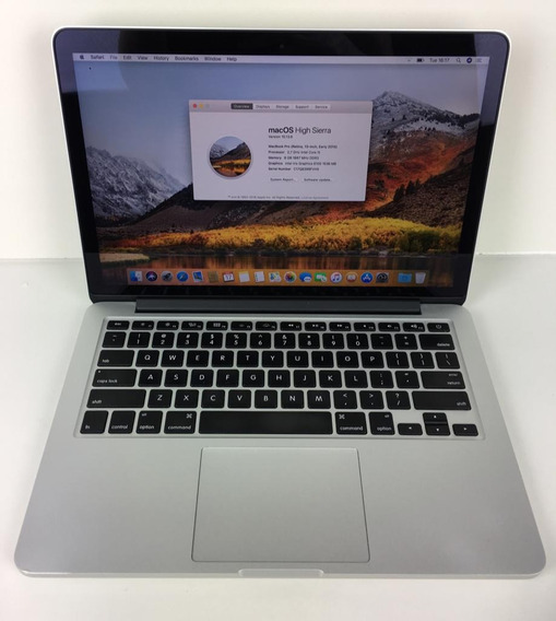 Macbook Pro 2015 Retina I5 8gb 256ssd + Carregador Garantia