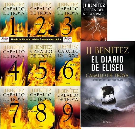 Caballo De Troya 11 Libros 9 Audio-libros + Diario De Eliseo