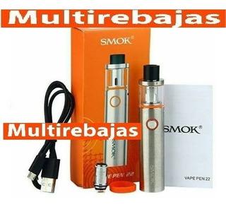 Kit Cigarrillo Electrico Completo Marca Smok Stick V8