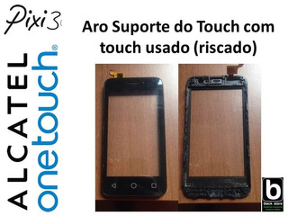 Aro Suporte Do Touch Com Touch Usado Alcatel Pixi 3 4013