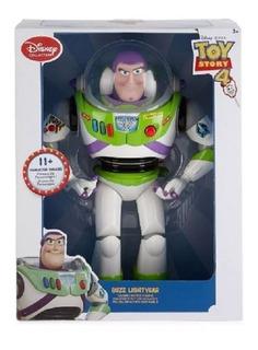 Buzz Lightyear Toy Story 4 Nuevo Y Original C Luz Y Frases