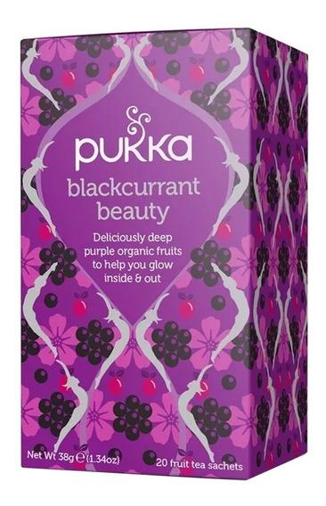 Té Divina Piel Blackcurrant Beauty Pukka Organico