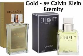 Perfume Tradução Gold 59 - Calvin Klein Eternity