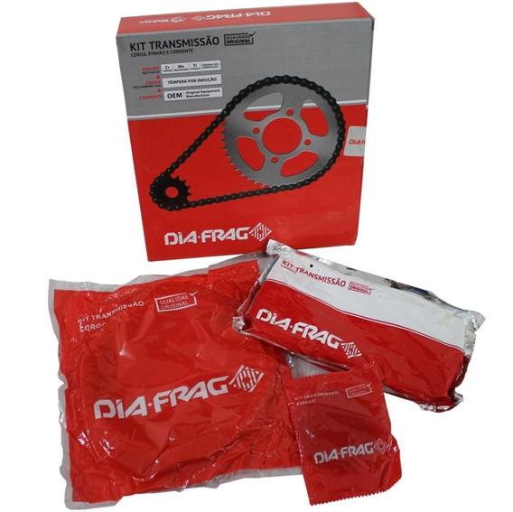 Kit Relação Honda Pop 100 Transmissão Dft-06428 Dia-frag
