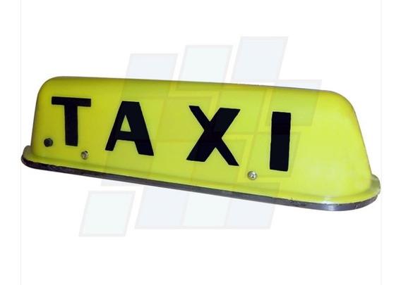 Cartel Para Taxi Luz Base Imantada Luminoso 12v