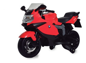 Moto Elétrica - 6v - Bmw K1300 - Vermelha - Bandeirante