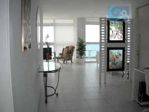 Imagem 1 de 25 de Apartamento À Venda Na Praia Das Pitangueiras - Guarujá. - Ap2164