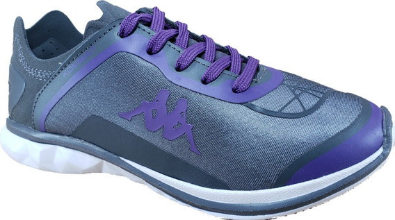 Zapatilla Kappa Kombat Polar Gris-violeta Megacaseros