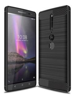 Jelly Case Carbono Lenovo Phab 2 / 2pro / 2plus / Funda Tpu