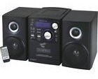 New Supersonic Sc-807 Micro Hi-fi System Bt Mp3 Cd Stereo Sc