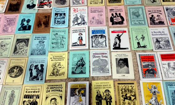 40 Folhetos De Literatura De Cordel