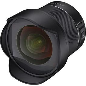 Lente Rokinon Af 14mm F/2.8 P/ Canon Ef Full Frame C/ Recibo