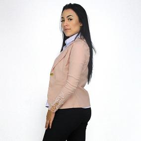 Blusa Blazer Feminino Roupa Social Elastano Cores Evangelica