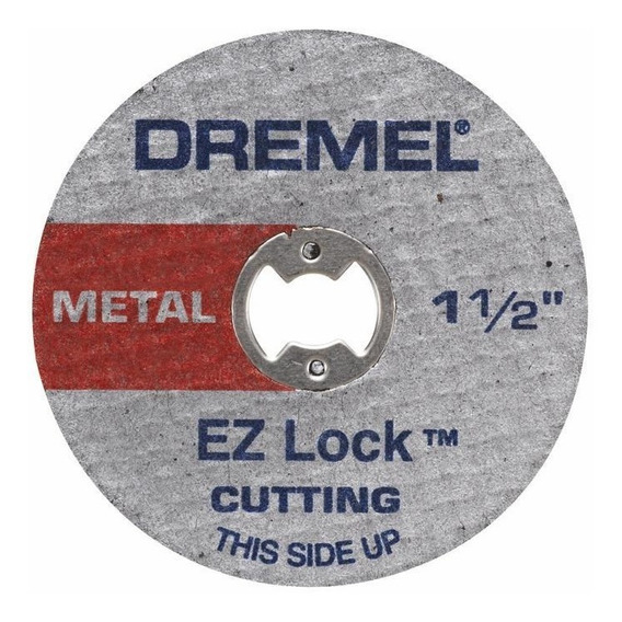 Discos Corte Dremel Para Metal 12u Ez Lock