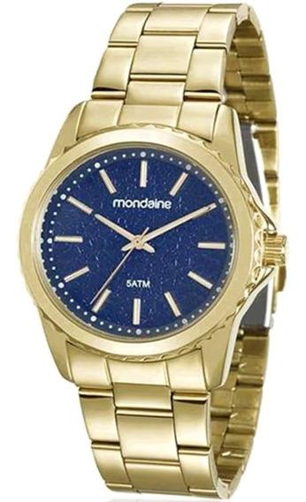 Relógio Feminino Mondaine Analógico 99077lpmvde3 Dourado