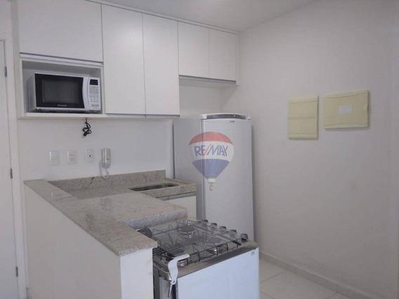 Flat Com 1 Dormitório Para Alugar, 38 M² Por R$ 2.000,00/mês - Candeias - Jaboatão Dos Guararapes/pe - Fl0079