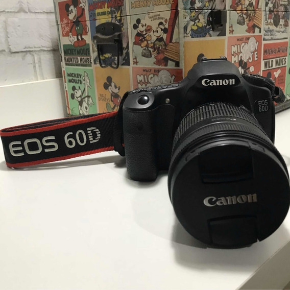Canon 60d - Lente 18-135mm