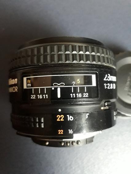 Lente Nikon 28mm 2.8d