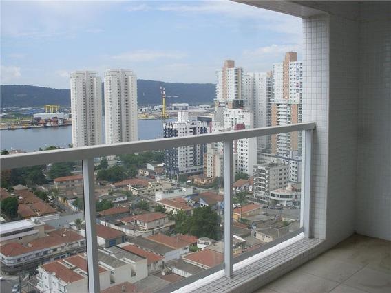 Apartamento Com 3 Dormitórios Para Alugar, 111 M² Por R$ 3.500,00/mês - Ponta Da Praia - Santos/sp - Ap2644