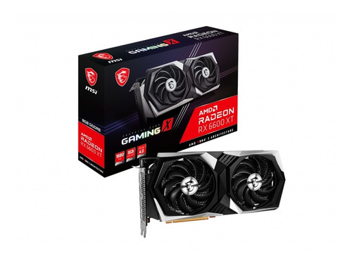 Imagen 1 de 7 de Placa De Video Msi Rx 6600 Xt Gaming X 8gb Gddr6 Radeon