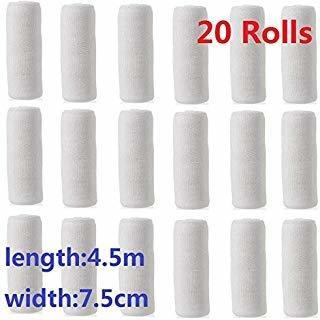Eatingbiting(r)20 Rolls 3 Inch X 4.92 Yards Rolled Gauze