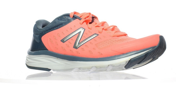 Zapatillas New Balance Mujer W490cf5 Salmon Running