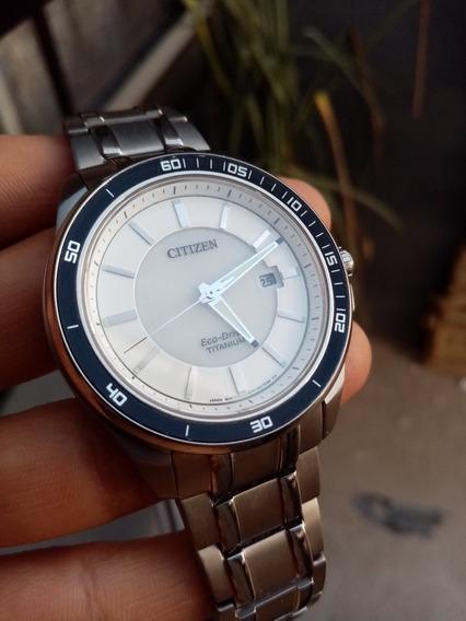 Reloj Citizen Eco Drive De Titanio