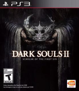 Dark Souls 2 : Scholar Of The First Sin Ps3 Original