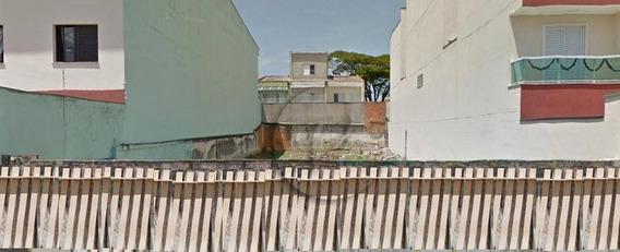 Terreno À Venda, 360 M² Por R$ 850.000 - Vila Homero Thon - Santo André/sp - Te0441