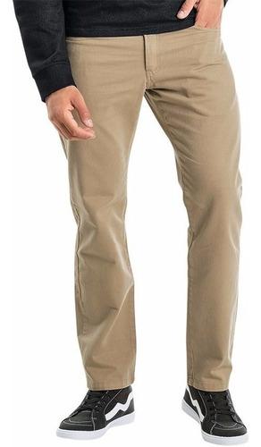 Imagem 1 de 5 de Calça Masculina Branca Sarja Lycra 62 64 66 Plus Size Grande