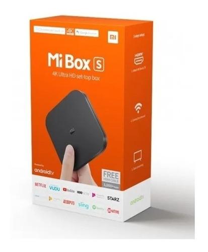 Tv Box Xiaomi Mi Box S Android +tienda+entrega Inmediata¡¡