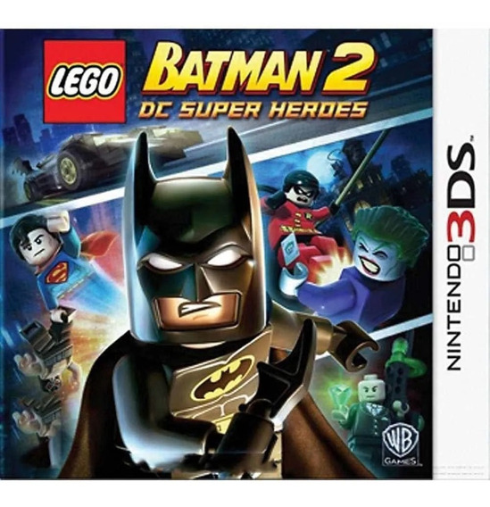 Jogo Lego Batman 2: Dc Super Heroes - 3ds - Semi-novo