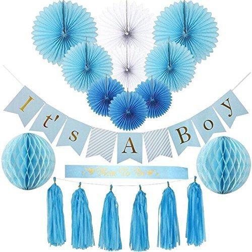 Baby Shower Decoraciones Para Niño Azul