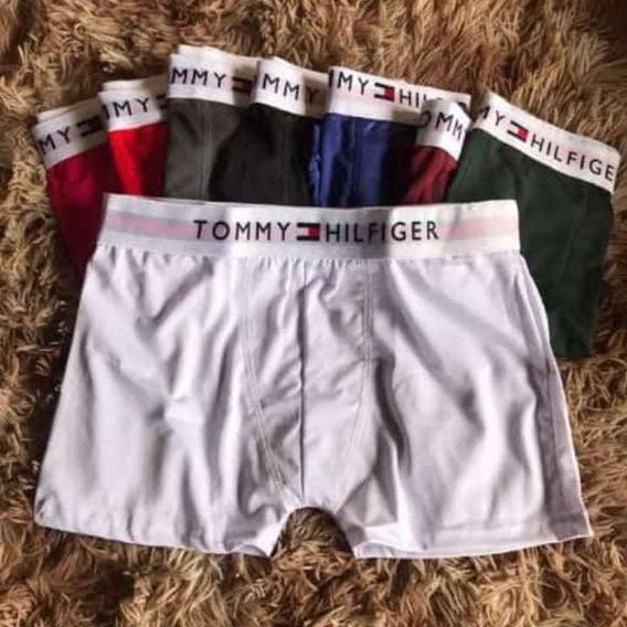 Kit Com 10 Cuecas Tommy Hilfiger