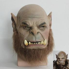Máscara Ogrim Warcraft Fantasia Realista Original