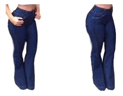 Atacado 5 Calça Jeans Flare - Cintura Alta - Hot Pants