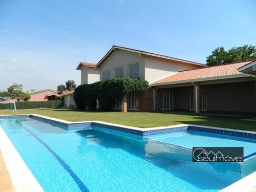 Imagem 1 de 30 de Casa Com 5 Dormitórios À Venda, 600 M² Por R$ 2.000.000,00 - Condomínio Monte Belo - Salto/sp - Ca0655