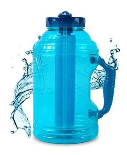 Imagen 1 de 6 de Botella De Agua O Jarra Para Agua C Tapa Y Enfriador 2.3l