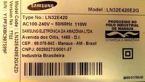 Alto Falante Tv Samsung Mod: Ln32e420e2g